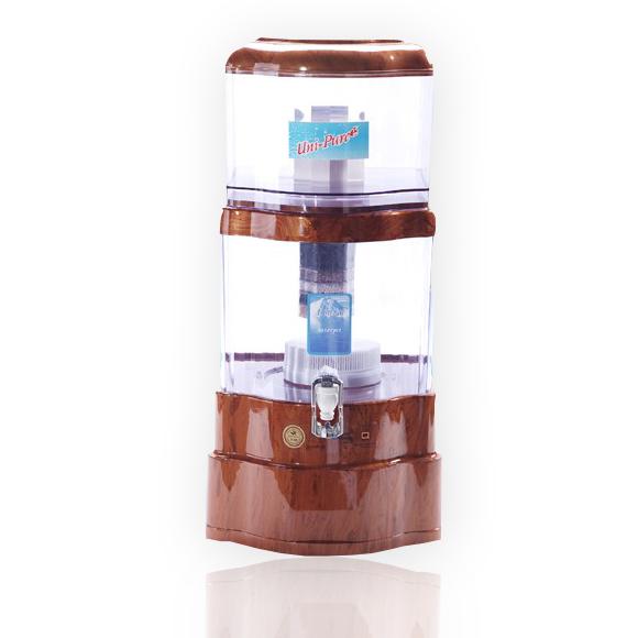 Unipure เครื่องกรองน้ำแร่อเนกประสงค์ ขนาด 28 ลิตร - ลายไม้