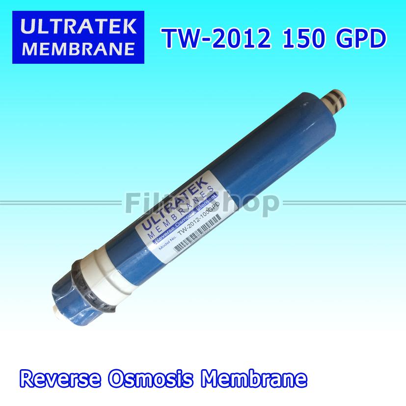 ไส้กรองน้ำ RO Membrane ULTRATEK TW-2012-150 GPD