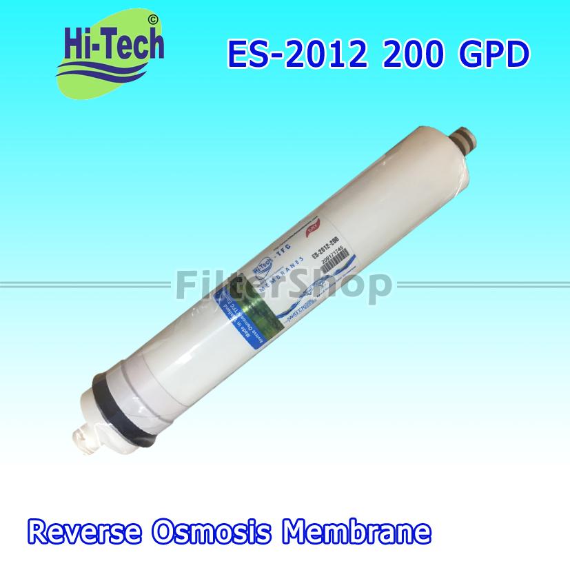 ไส้กรองน้ำ RO Membrane Hi-Tech ES-2012-200 GPD