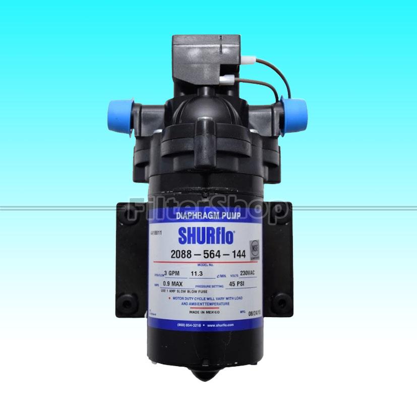 Pump Diaphragm (จ่ายน้ำ) SHURFLO 3 GPM 230 VAC Blue