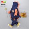 PRE-ORDER ชุดเด็ก เซต 3 ชิ้น เสื้อแขนยาวไดโนเสาร์ เสื้อกั๊ก กางเกงขายาว