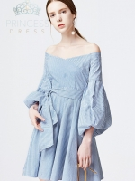 A004 Margaery Blue Princess Dress
