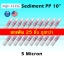 ไส้กรองน้ำ Sediment 10 นิ้ว x 2.5 นิ้ว 5 Micron AQUATEK แพ็ค 25 ชิ้น