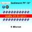ไส้กรองน้ำ Sediment PP 10 นิ้ว x 2.5 นิ้ว 5 Micron Clean Pure แพ็ค 25 ชิ้น